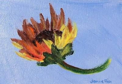 Painting - Little Sunflower by Jamie Frier