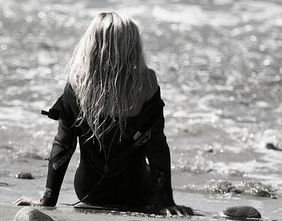 Photograph - Little Surfergirl by Waterdancer