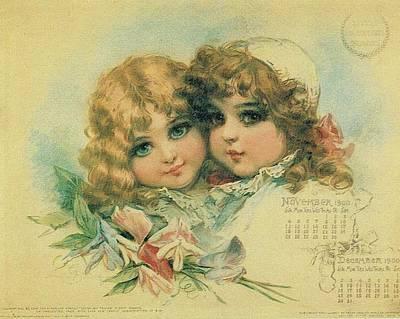 Little Sweethearts Calendar 3 Original