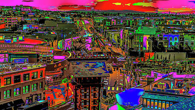 Photograph - Little Tokyo Colorfication by Kenneth James