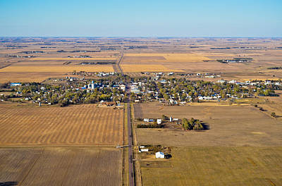 Photograph - Little Town On The Prairie by Carl Young