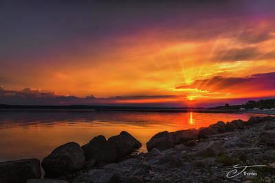 Wall Art - Photograph - Little Traverse Bay Petoskey Michigan by J Thomas