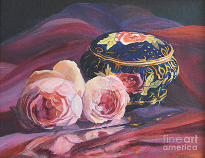 Painting - Little Treasures by Beatrice Cloake