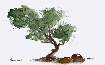 Little Tree 1 Art Print