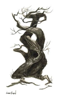 Little Tree 79 Original by Sean Seal