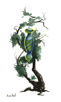 Little Tree 86 Original by Sean Seal
