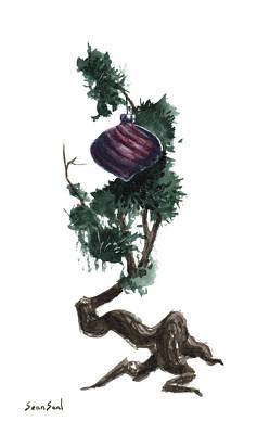 Little Tree 87 Original by Sean Seal