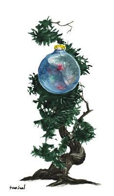 Little Tree 91 Original by Sean Seal
