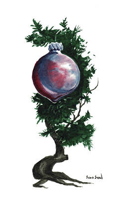 Little Tree 92 Original by Sean Seal