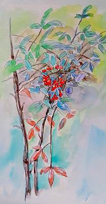 Painting - Little Tree  by Hae Kim