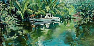 Painting - Little Tropical Paradise by Kathleen Heese
