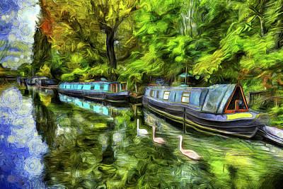 Impressionism Photos - Little Venice London Art by David Pyatt