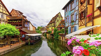 Photograph - Little Venice, Petite Venise, In Colmar, Alsace, France by Elenarts - Elena Duvernay photo