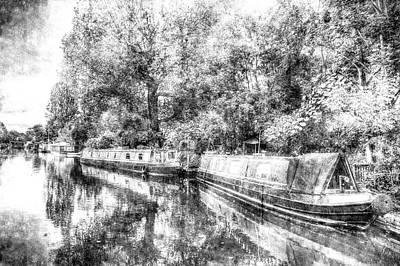 Photograph - Little Venice Vintage by David Pyatt
