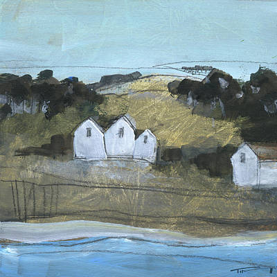 Painting - Little Village 5 by Tim Nyberg