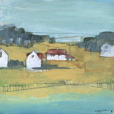 Painting - Little Village 6 by Tim Nyberg