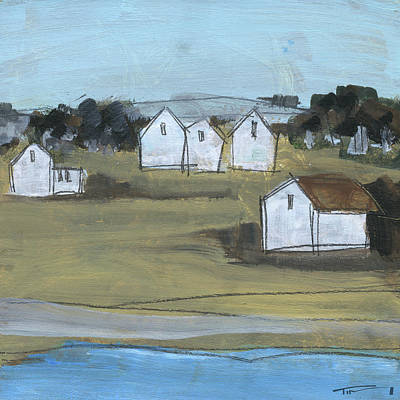Painting - Little Village 7 by Tim Nyberg