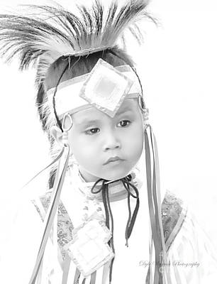 Photograph - Little Wacipi Dancer  by Dyle Warren
