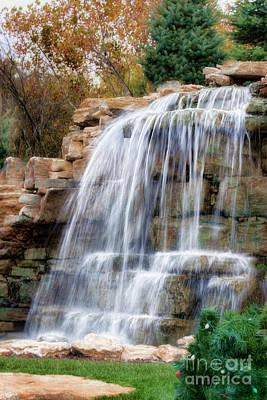 Photograph - Little Waterfall by Joan Bertucci