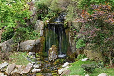 Photograph - Little Waterfall by Sandy Keeton