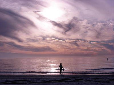 Photograph - Little Waves Big World by Amanda Vouglas