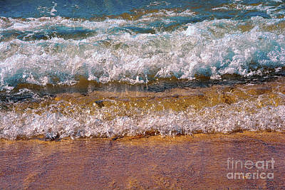 Photograph - Little Waves Of Color By Kaye Menner by Kaye Menner