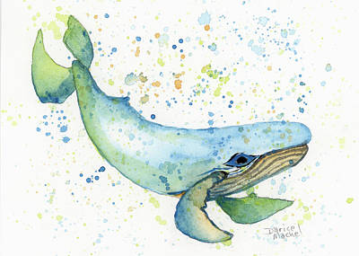 Painting - Little Whale by Darice Machel McGuire