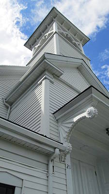 Photograph - Little White Church by Jeff Seaberg