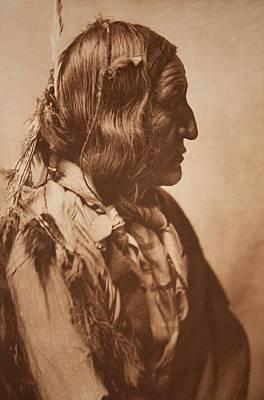 Little Wolf - Cheyenne , Native American By Edward Sheriff Curtis, 1868 - 1952 Art Print
