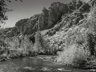 Photograph - Little Wood River 2 by Mark Mille