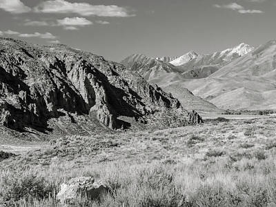 Photograph - Little Wood River Valley by Mark Mille