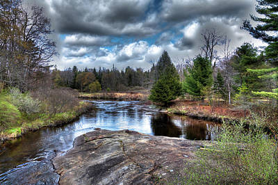 Spring Scenes Photograph - Big Woodhull Creek by David Patterson