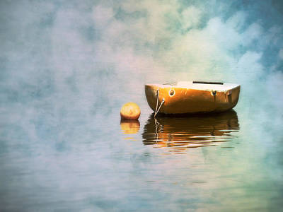 Photograph - Little Yellow Boat by Micki Findlay