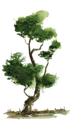 Little Zen Tree 145 Art Print