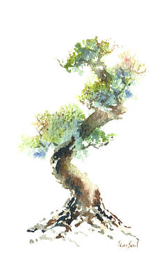 Painting - Little Zen Tree 1692 by Sean Seal