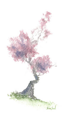 Painting - Little Zen Tree 1981 by Sean Seal