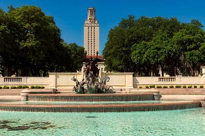 Photograph - Littlefield Fountain - University Of Texas by L O C
