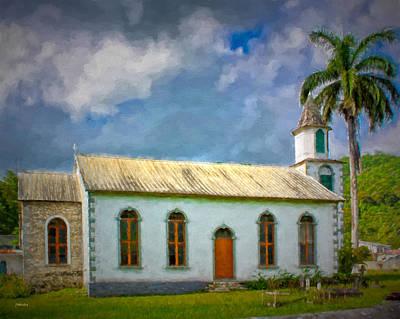 Photograph - Little Jamaican Church by John M Bailey