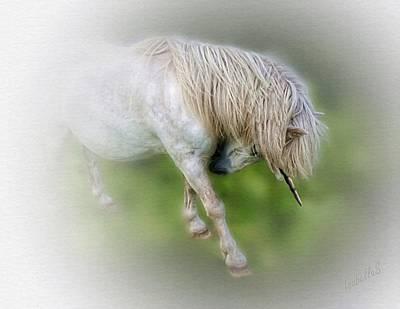 Digital Art - Littlest Unicorn by Isabella Shores