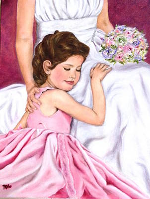 Painting - Littlest Wedding Belle by Dr Pat Gehr