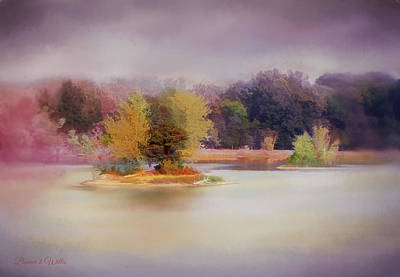 Digital Art - Littletranquil Island by Bonnie Willis