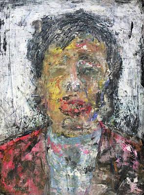 Painting - Liu Yiqian by Antonio Ortiz