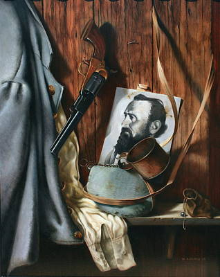 Stonewall Jackson Painting - Live And Die In Dixie by William Albanese Sr