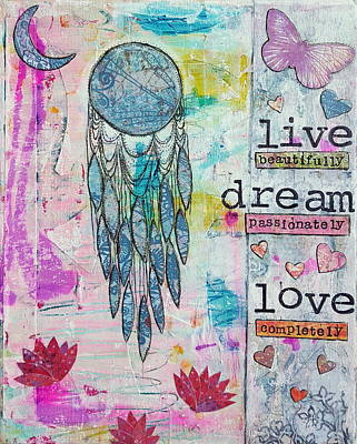 Live Dream Love Original by Corinna Maggy