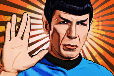 Live Long Mr Spock Original by Tobias Woelki
