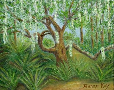 Painting - Live Oak And Spanish Moss by Jeanne Kay Juhos