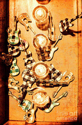 Light Bulb Wall Art - Photograph - Live Rock Show by Jorgo Photography - Wall Art Gallery