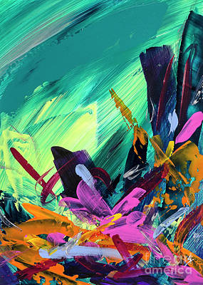 Painting - Lively by Amy Yosmali