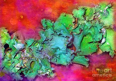 Photograph - Lively Lichen by Judi Bagwell