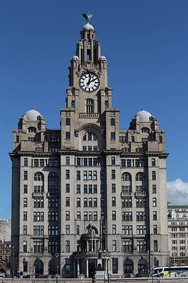 Photograph - Liver Building by Sean Foreman